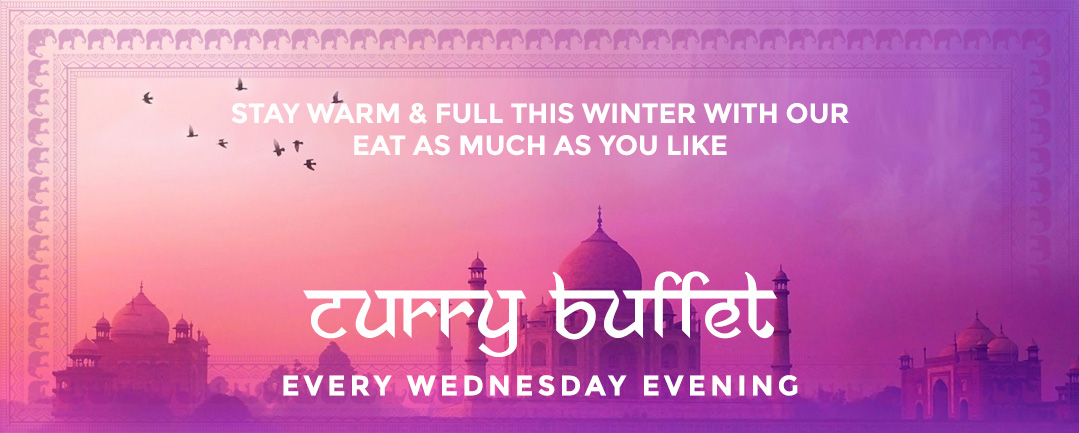 Curry Evenings – Eat As Much As You Like